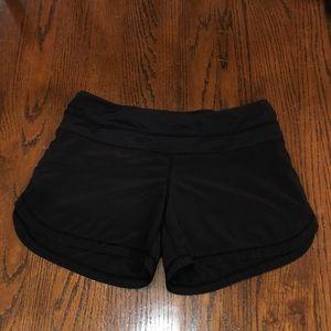 Lululemon longer speed shorts size 4